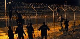 إحباط محاولة اقتحام جماعي لـ400 مهاجر سري لمدينة سبتة المحتلة