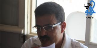 الأستاذ محمد زهاري