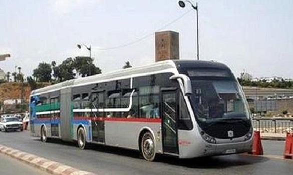 حافلات النقل بين سلا والرباط