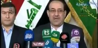 المالكي يتعهد بدعم الأسد ويهاجم السعودية من طهران