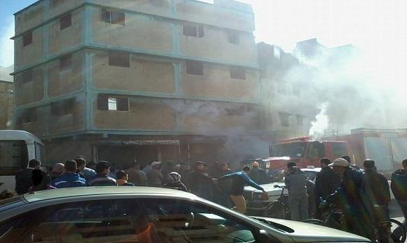حريق في منزل بمدينة سلا بسبب عودة التيار الكهربائي بعد انقطاعه