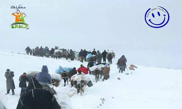 قرى كاملة مهددة بالموت لعزلتها بسبب الثلوج بأزيلال
