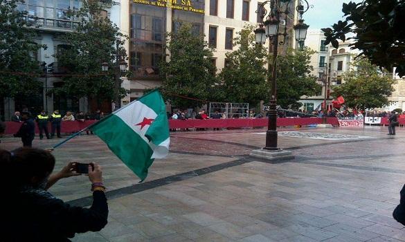 تظاهرة مناهضة لاحتفالات سقوط الأندلس اليوم في قلب غرناطة