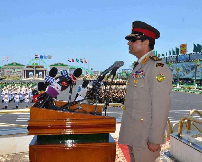 المجلس العسكري يسمح للسيسي بالترشح للرئاسة.. وعادت مصر إلى حكم العسكر