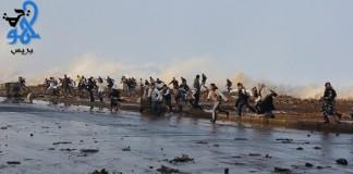 أخطر صورة من هيجان البحر اليوم في مدينة سلا