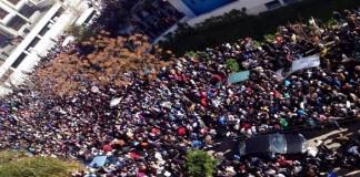 خروج التلاميذ في مسيرات حاشدة استنكارا لبرنامج مسار (صور)