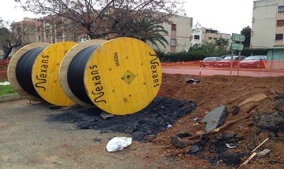 استئناف عمليات تجديد ودفن الشبكة الكهربائية بحي السلام بمدينة سلا