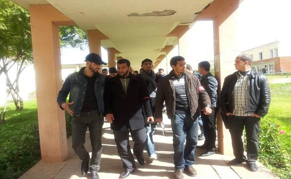 تنسيقية طلبة «جامعة الحسن الأول» بسطات تقاطع الامتحانات الاستدراكية