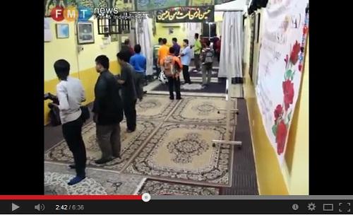 اقتحام إحدى حسينيات التشيع المحظور رسميا في ماليزيا