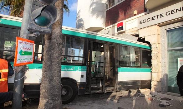 مراهق حاول اختطاف حافلة في الدار البيضاء والأمن يتدخل
