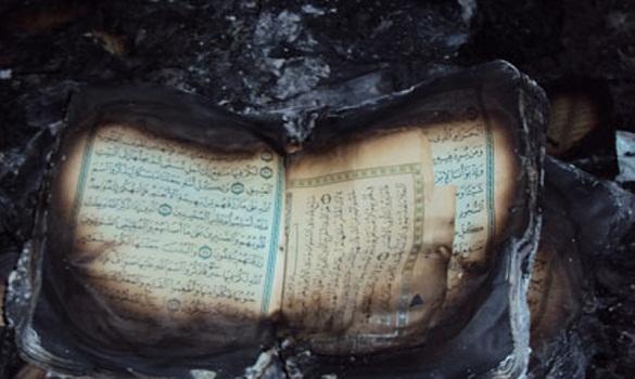 حرق مصاحف مسجد السلام بمدينة «رييتي» القريبة من روما بإيطاليا