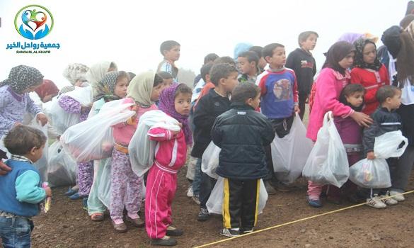 مساعدات «رواحل الخير» بتطوان لمنطقة ماجو بجماعة أولاد علي منصور