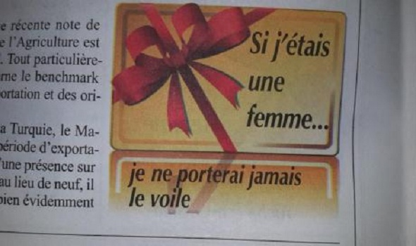 ليكونوميست: «إذا كنت امرأة فلن أضع أبدا الحجاب»