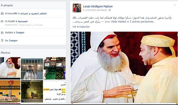 الشيخ الفزازي يكذب ما نشر عنه فبرايركوم وكود.ما حول ما دار بينه وبين الملك