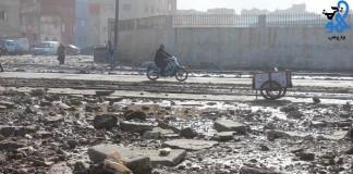 مدّ بحري جديد يضرب ساحل حي سيدي موسى بمدينة سلا