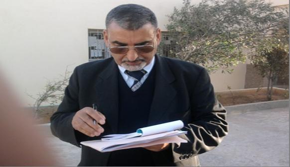 الأستاذ محمد احساين