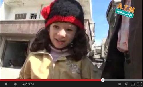 تعلموا العزة والإباء من هذه الطفلة السورية يا دعاة الهدن والمصالحة