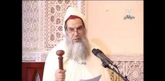 الشيخ الفيزازي خطبة الجمعة أمام الملك
