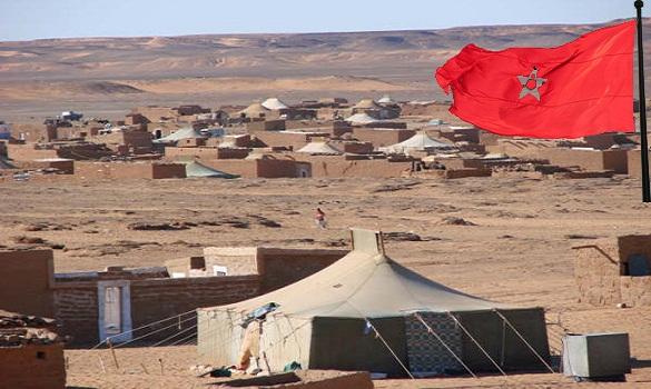 «بركات» ترفع الأعلام المغربية بمخيمات البوليساريو وتؤيد مقترح الحكم الذاتي