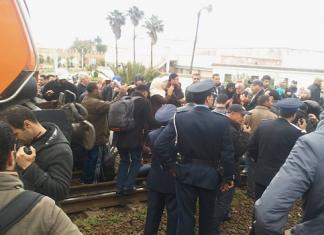 بيان بشأن الاعتقال الذي طال الأطر العليا المعطلة بمحطة القطار سلا