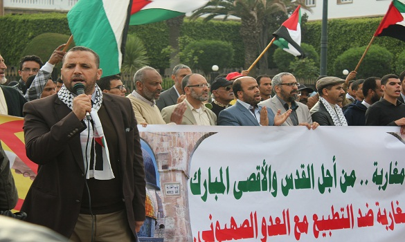 الكاتب العام للمرصد المغربي لمناهضة التطبيع يكتب: التطبيع... أو الإرهاب..!!!