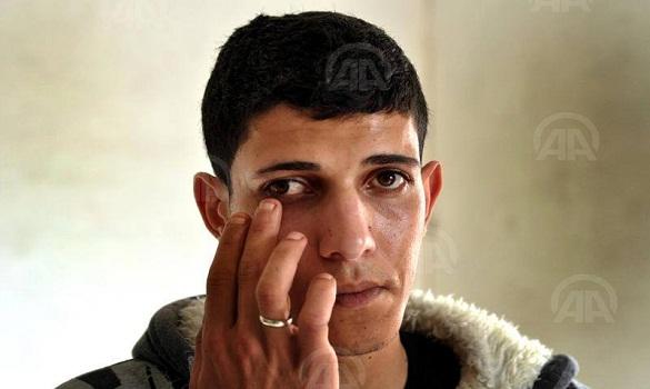 شاب من غزة يعرض عينه للبيع لسدّ رمق عائلته