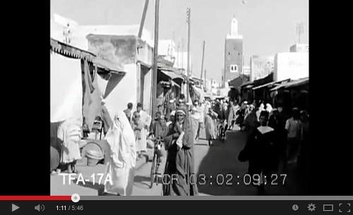 مقطع مرئي لمغرب 1930
