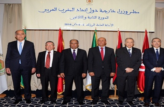 انعقاد الدورة الثانية والثلاثون لمجلس وزراء خارجية دول اتحاد المغرب العربي