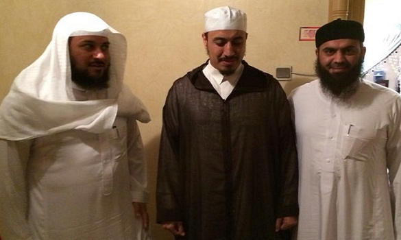 الدكتور العريفي يزور المغرب ويلتقي الدكتور عادل رفوش وعددا من المشايخ