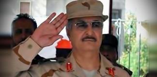 رئيس الأركان المصري يتفقد قوات حفتر في بنغازي