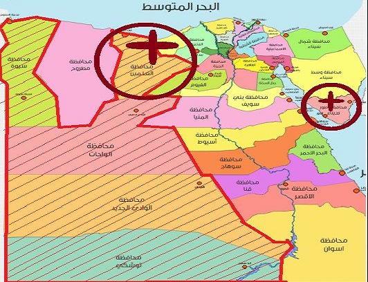 مشروع السيسي يهيئ الصحراء الغربية لتكون امتدادا للدولة المسيحية في وادي النطرون