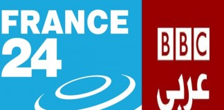 «france24» و«bbc arabic» والإعلام الصهيوني