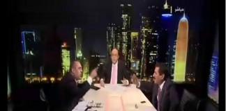 ضيوف برنامج الاتجاه المعاكس العراقيين يتعاركون فى الاستديو والجزيرة تقطع بث البرنامج