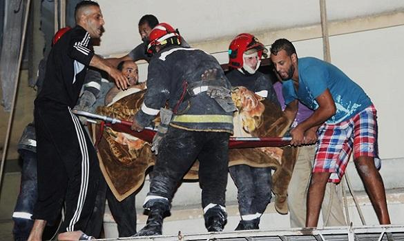 حصيلة جديدة: مصرع 4 وإصابة 55 في انهيار العمارات الثلاثة بالدار البيضاء