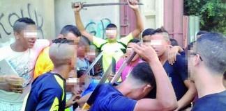 4 فرق أمنية واستعمال السلاح الوظيفي لاعتقال عصابة قامت بعمليات سطو وجرح بشارع أوجادة بسلا