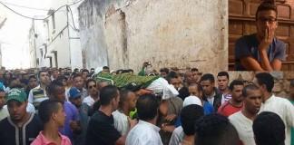 لحظة اعتقال قاتل الشاب السلوي «عبد الله الزواكي» ومطالبات بإعدامه