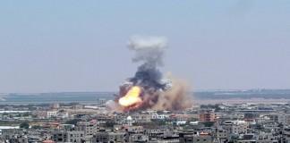 """حماس تحمّل """"إسرائيل"""" مسؤولية التصعيد في غزة"""