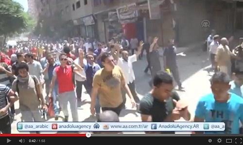 مظاهرات الذكرى الأولى لفض اعتصامي رابعة والنهضة