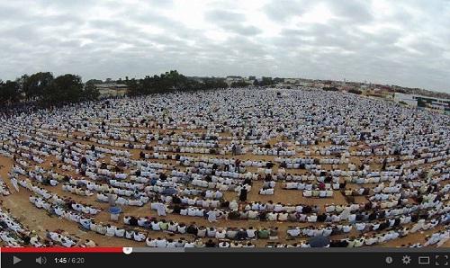 وثائقي حول عمل اللجنة المنظمة لمصلى العيد بحي القرية بمدينة سلا