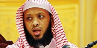 وداع الشيخ توفيق الصائغ في المطار بعد قرار ترحيله من السعودية