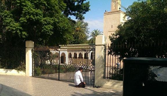 عفوا.. انتهى وقت الدخول إلى المسجد