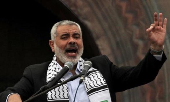 هنية يرفض ربط إعادة إعمار قطاع غزة بنزع سلاح المقاومة