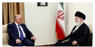 إصرار إيران على عدم وضع العلم العراقي خلال لقاء خامنئي
