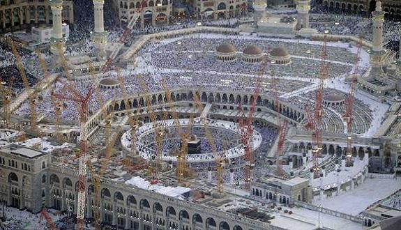 بدء المرحلة الثالثة من مشروع توسعة المسجد الحرام بمكة المكرمة