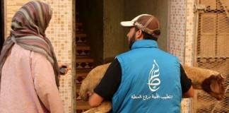 أكثر من 100 أسرة أرملة ويتامى استفادت من مبادرة أضحية عطاء التي وزعت أزيد من 130 أضحية في سبعة مدن