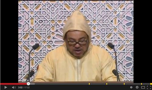 نص الخطاب الملكي السامي في البرلمان 10-10-2014