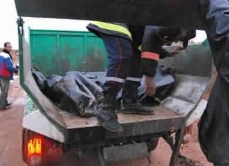 فضيحة: نقل جثث ضحايا فيضانات إقليم كلميم في شاحنة لحمل الأزبال