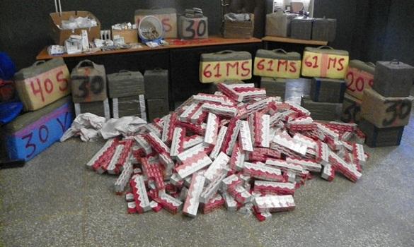 ضبط كمية مهمة من السجائر المهربة في القنيطرة