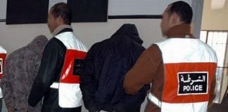 توقيف أربعة أشخاص متورطين في جريمة محاولة القتل من أجل السرقة بوجدة
