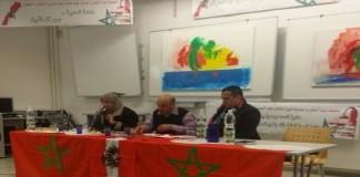 المقرئ أبو زيد وخديجة مفيد في لقاء تواصلي عن الصحراء المغربية بفيينا